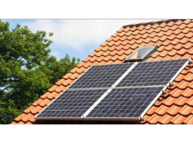 Комплект солнечных батарей дача1
