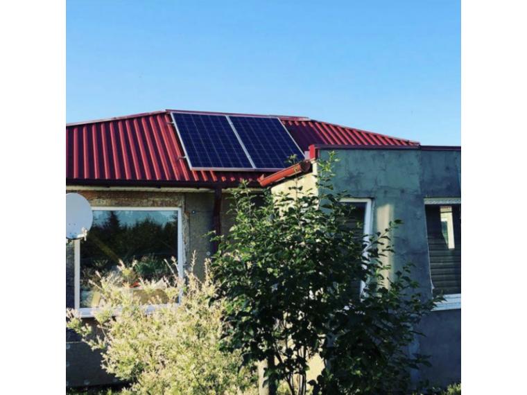 Солнечная электростанция для дачи 0,6 кВт
